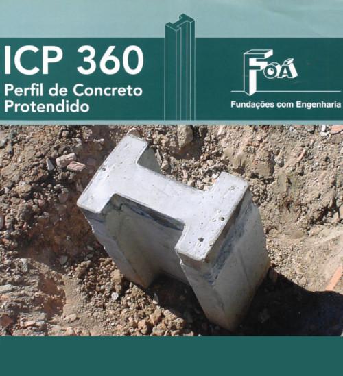 Perfil de Concreto Protendido ICP 360